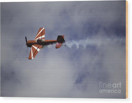 Air Show 3 Wood Print by Darcy Evans