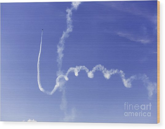 Air Show 5 Wood Print by Darcy Evans
