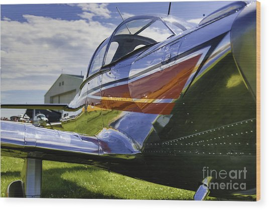 Air Show 6 Wood Print by Darcy Evans
