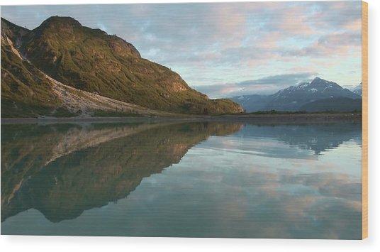 Alaskan Illusion Wood Print