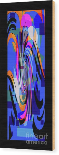 Alleah 01 Wood Print