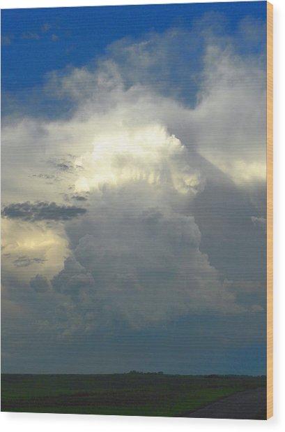 Amazing Cloud Wood Print
