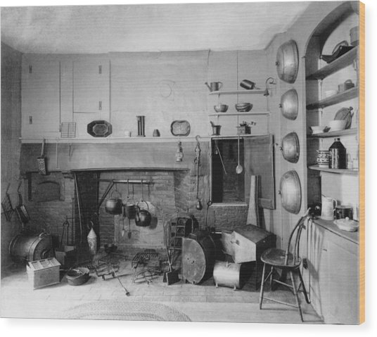American Colonial Era Fireplace Photograph By Everett
