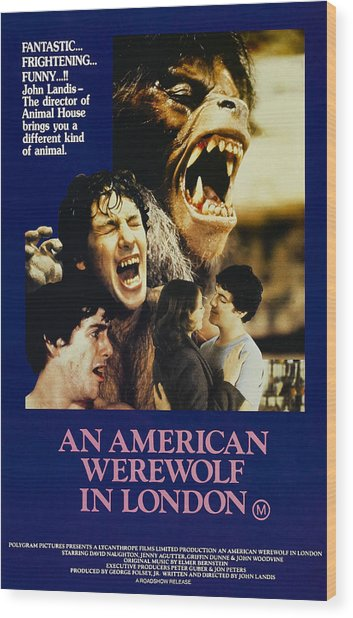 An American Werewolf In London, David Wood Print by Everett