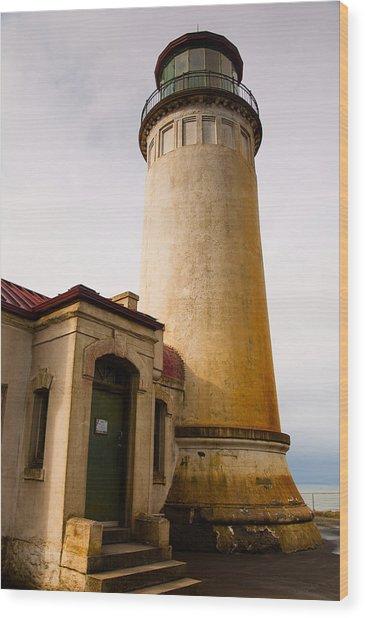 Ancient Lighthouse Wood Print