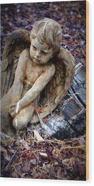 Angel For Khan Wood Print