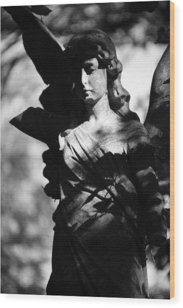 Angel Of Solitude Wood Print by Jez C Self