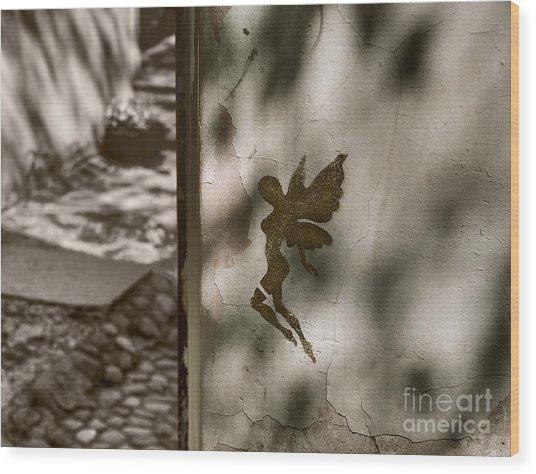 Angel Of Tallinn Wood Print