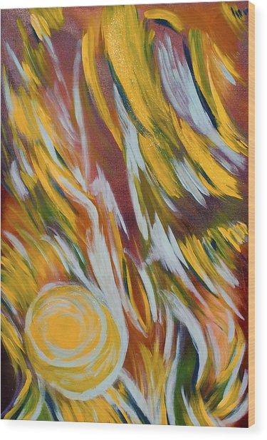 Angelic Wood Print