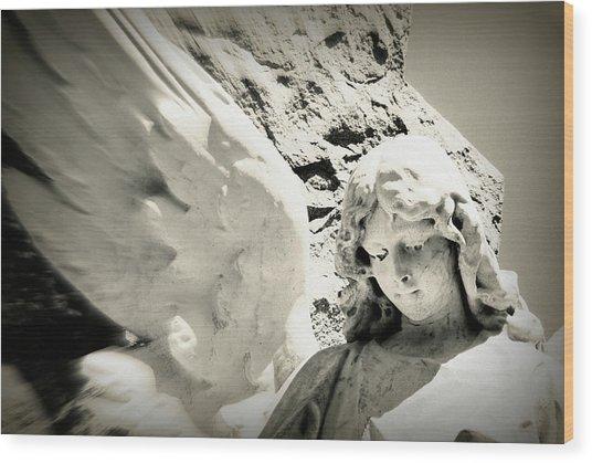 Angelic Beauty Wood Print