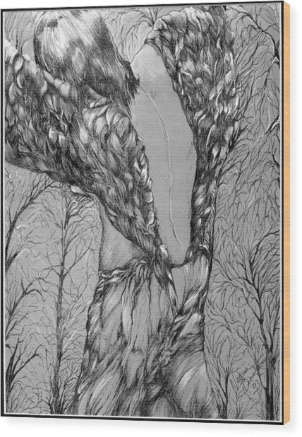 Angel's Dance Wood Print