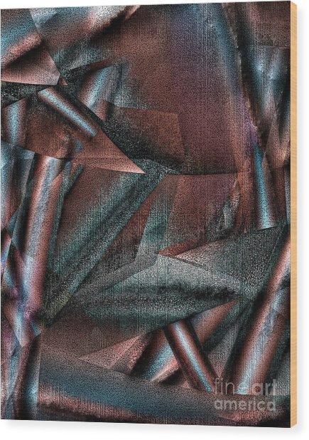 Angst II Wood Print