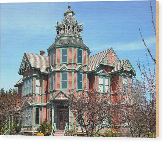 Ann Starrett Mansion Port Townsend Wood Print