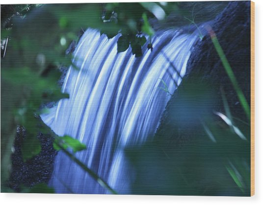 Another Waterfall Wood Print