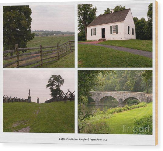 Antietam Maryland - September 17 - 1862 Wood Print