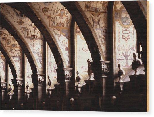 Antiquarian Hall The Residenz Munich Wood Print