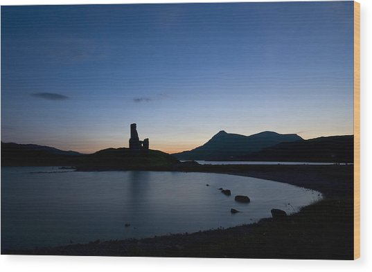 Ardvreck Castle Wood Print