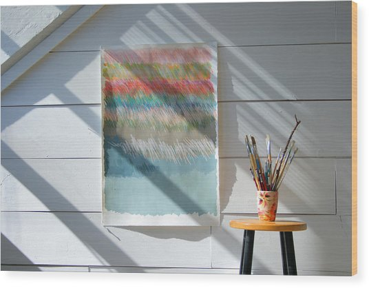 Artistic Showcase Wood Print
