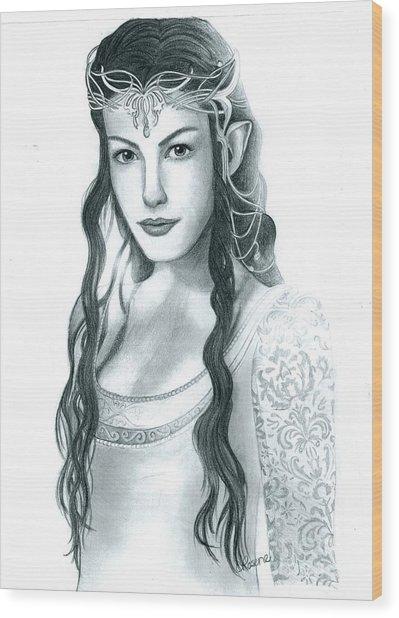 Arwen Undomiel Wood Print