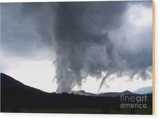 As The Storm Passed 1 Wood Print by Peggy Miller