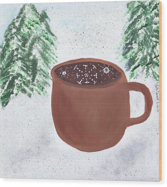 Aspen Cup Wood Print
