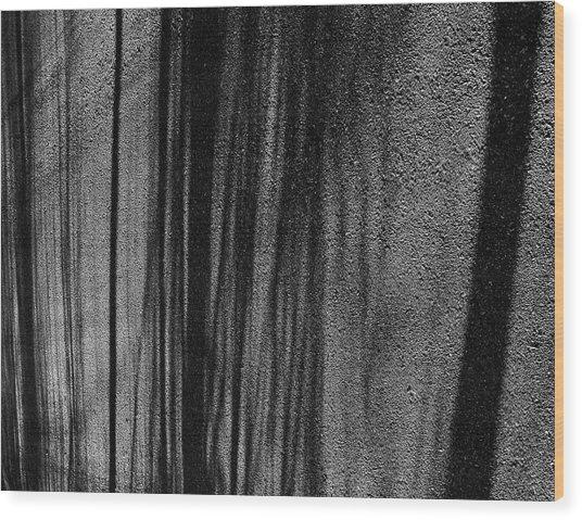 Aspen Shadows Wood Print