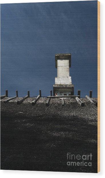 At Chimney Height Wood Print