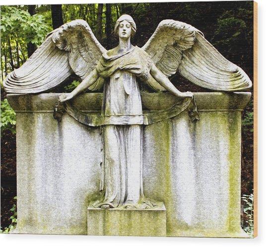 At Heavens Gate Wood Print