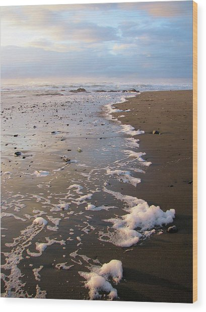 At Sunset Wood Print