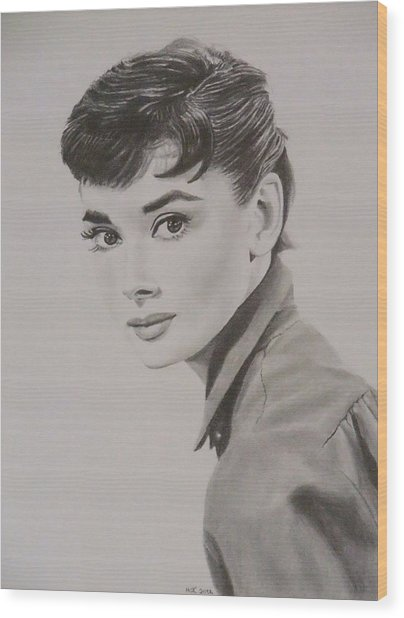 Audrey Wood Print by Mike OConnell