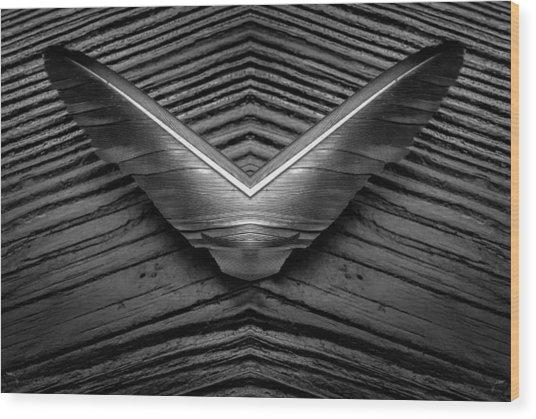 Avian Victory Wood Print