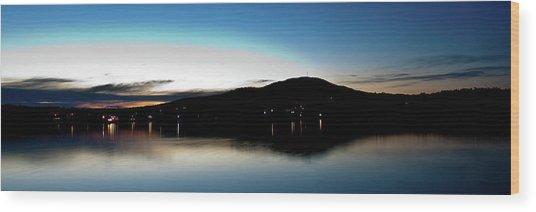 Awanadjo Across The Water Wood Print