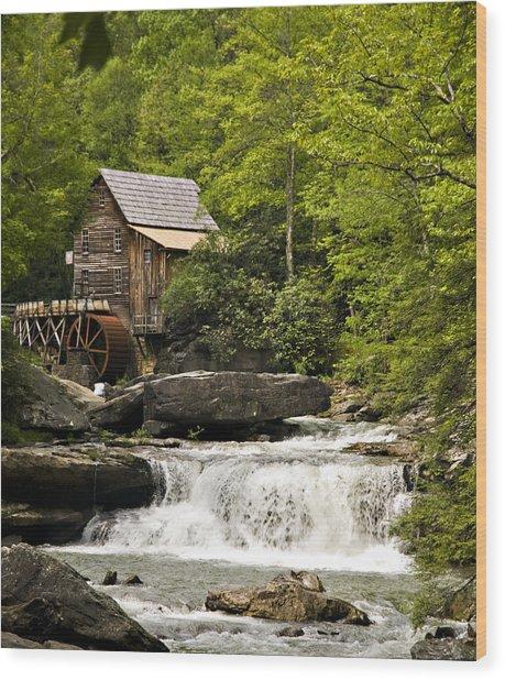 Babcock Mill Wood Print