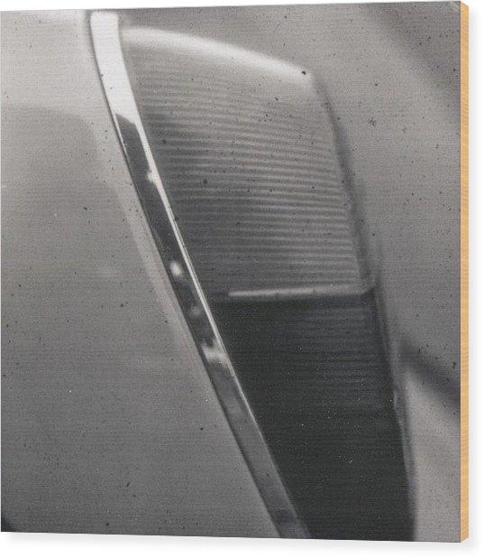 Back Light #detail Of A #volkswagen #vw Wood Print