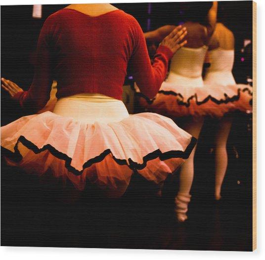 Backstage Wood Print by Denice Breaux