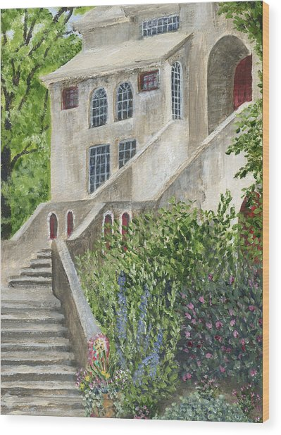 Backsteps At Fonthill Wood Print