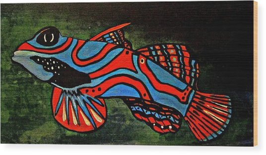 Badfruityfish Wood Print