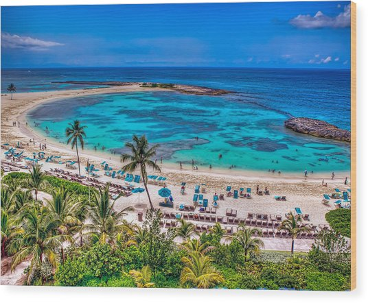 Bahamas. Nassau Wood Print