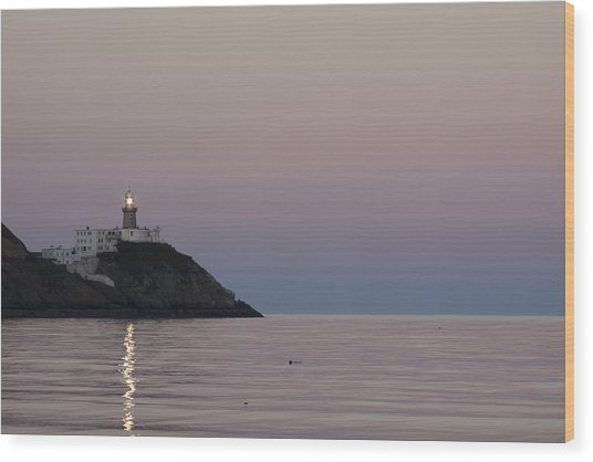 Baily Lighthouse Howth Wood Print by Dave McManus
