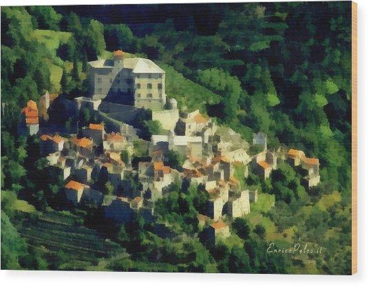 Balestrino Paese Abbandonato - By Enrico Pelos Wood Print