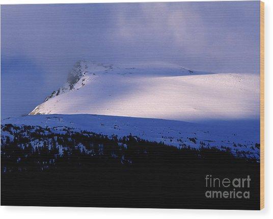 Banff National Park 2 Wood Print by Terry Elniski