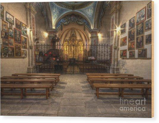 Baroque Church In Savoire France 4 Wood Print