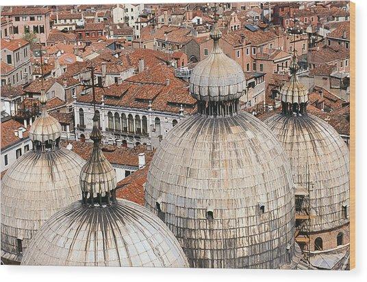 Basilica Di San Marco Wood Print by Carlos Diaz