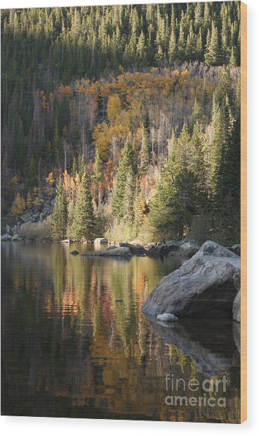 Bear Lake Wood Print