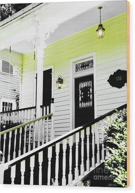 Beauregard Town Baton Rouge Wood Print