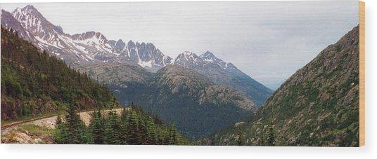 Beautiful Alaska Wood Print