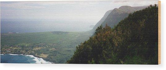 Beautiful Hawaii Shore Wood Print