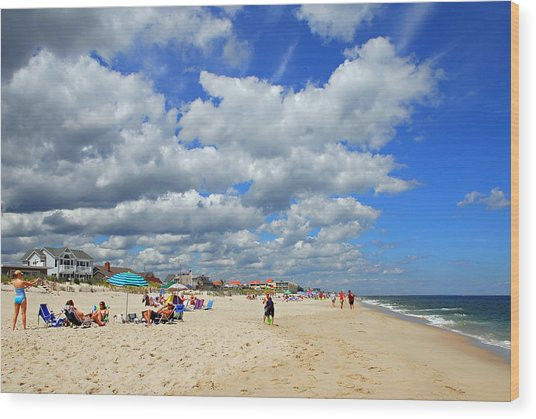 Beautiful Jersey Shore Wood Print
