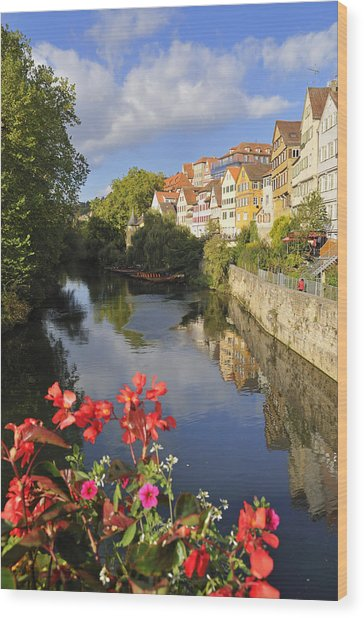 Beautiful Tuebingen In Germany Wood Print