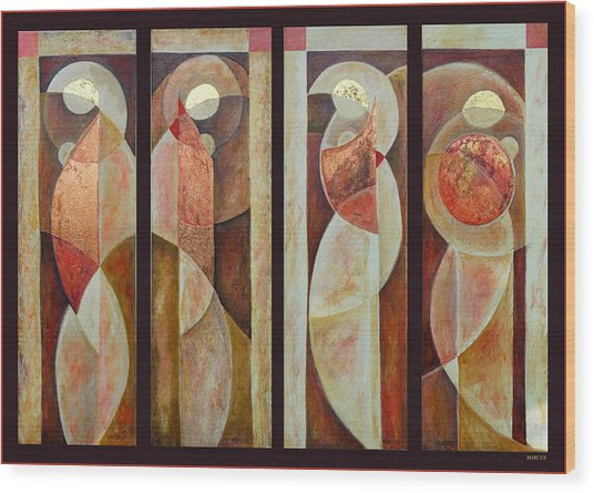 Beauty Series Wood Print